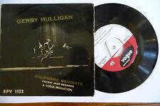"GERRY MULLIGAN""CALIFORNIA CONCERTS-disco 45 giri  VOGUE UK 1961"