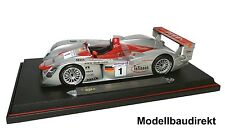 Audi R8 Le Mans GTR Nr. 1 Biela / Kristensen / Pirro 1:18 Maisto 38659 NEU & OVP