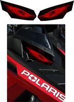 POLARIS RUSH PRO RMK 600 700 800 INDY ASSAULT 155 163 HEADLIGHT  DECAL STICKER 2