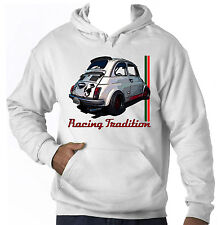 FIAT 500 ABARTH INSPIRED  - NEW AMAZING GRAPHIC HOODIE S-M-L-XL-XXL