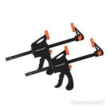 2 X Quick Grip Mini modelización trinquete Vice Bar Abrazaderas De 4 Pulgadas 100 Mm (250108)