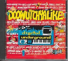 DIGITAL UNDERGROUND - Doowutchyalike CD SINGLE 4TR Hip Hop (INDISC) 1989