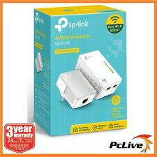 TP-Link TL-WPA4220 KIT Wireless Powerline Ethernet Adapter WIFI Extender AV600