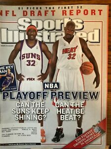 Sports Illustrated April 25, 2005 - Amare Stodemire / Shaquille O'Neal