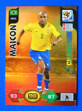 CARD ADRENALYN WORLD CUP SOUTH AFRICA 2010 - MAICON - BRASIL - CHAMPION
