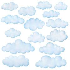 Wandsticker Wolken Himmel WAndtattoo Babyzimmer Kinderzimmer ablösbar selbstkleb
