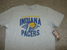 NWT NEW Indiana Pacers Heather Gray NBA Basketball T-Shirt Cotton 47 Brand XL