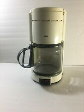 BRAUN AROMASTER 12-CUP AUTOMATIC COFFEE MAKER Type 4063, MI GERMANY - WHITE