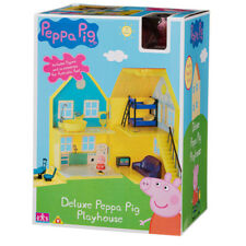 New Peppa Pig Deluxe Playhouse With Accessories