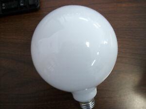DURA GLOBE BULBS E26 100W WHITE (455/A)