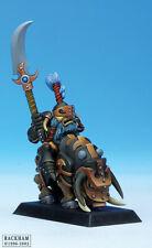 OOP RARE Confrontation Rackham Dwarfs of Tir Na Bor Khor Warrior on Razorback 1