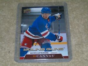 2020-21 UD Series 1 Alexis LaFreniere Young Guns Canvas Rookie #C91 RARE
