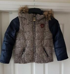 SCOTCH R'BELLE Girls Hooded Jacket Multi Colour Age 6yrs Old