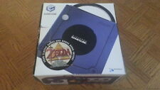 INDIGO NINTENDO GAMECUBE SYSTEM Zelda COLLECTORS Edition *COMPLETE* in BOX