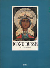 catalogo ICONE RUSSE dal XV al XIX secolo - Electa 1988
