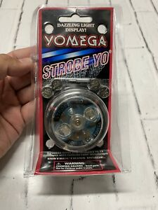 Vintage Yomega Yo-yo STROBE YO Dazzling Light Display W/Battery 1998 NEW RARE