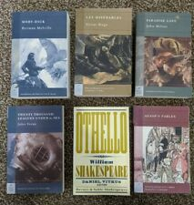 Classic book lot Moby-Dick Les Miserables Paradise Lost Othello Aesop's Fables..
