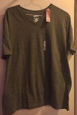 Mens Arizona Green Mountain  V-neck T-shirt NWT XXL