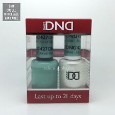 DND Daisy Duo Gel W/matching nail polish lacquer - AIR OF MINT - 427