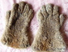 Pair of Fownes Fur Gloves Maybe 1950's In Superb Condition