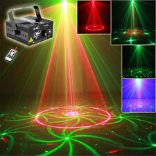 SUNY 24 RG Gobos Laser Projector Blue LED Lights DJ Party Xmas Stage Lighting