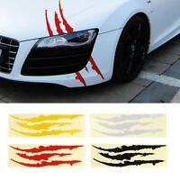Creative Cat Claw Scratch Car Suv Truck Headlight Vinyl Decal Sticker Stripe