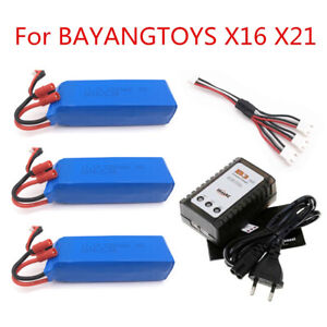 BATTERY FOR BAYANG BAYANGTOYS X16 X21 X22 RC Quadcopter Spare Parts 11.1V 2200mA