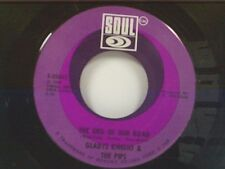 "GLADYS KNIGHT ""THE END OF OUR ROAD / DON'T LET HER TAKE YOUR LOVE FROM ME"" 45 MT"