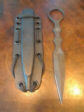 Spartan Blades CQB Knife , Black 154CM SS w/ Black Kydex sheath