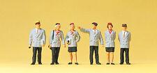 "Preiser 10491 H0 Figures "" Belgian Train Staff "" # NEW ORIGINAL PACKAGING #"