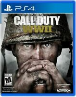 Call of Duty: WWII PlayStation 4 PS4 New Sealed Video Game Rated M