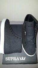 SUPRA THUNDER CHARCOAL WOOL SUIT MENS SHOES US SIZE 9.5 NEW IN BOX