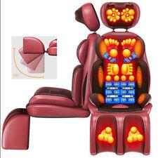 Electric Massage Chair Shiatsu Massager Neck Vertebra Full-Body Vibrate 220V