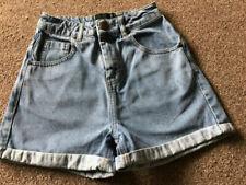 Denim Blue Tall Shorts for Women