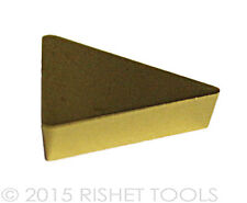 RISHET TOOLS TPG 432 C5 Multi Layer TiN Coated Carbide Inserts (10 PCS)