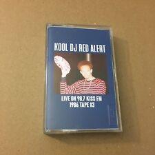 Kool DJ Red Alert Live on Kiss FM 98.7 1986 #3 RARE NYC CASSETTE MIXTAPE Tape