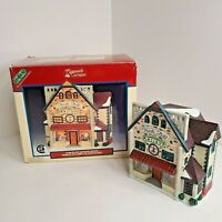 Lemax Plymouth Corners 1999 Porcelain Lighted House North Hill Antique #95382 w/