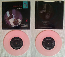 "PINK FLOYD - LEARNING TO FLY/ONE SLIP - 7"" SINGLE PINK VINYL 1987 - RARE"