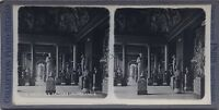 Museo Del Louvre Sala Dei Saisons Parigi Stereo Vintage Analogica