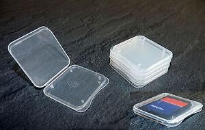 5 Stück Hülle für SD Karte EXTRA FLACH Speicherkarte ETUI Schutzhülle Box Case