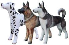 3 Inflatable Dog Husky German Shepherd Dalmatian Animal Home Garden Party Decor