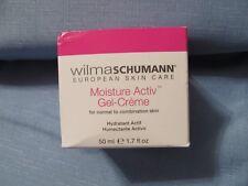 Wilma Schumann European Skin Care Moisture Activ Gel-Creme*New* Free Shipping