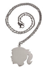 Silhouette Girl Necklace