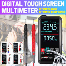 Digital Multimeter Touch Dc/Ac Professional Analog Tester True Rms Color Screen