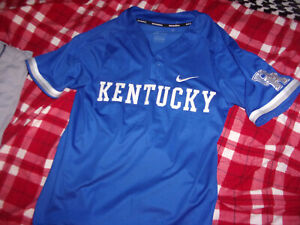 ⚾RARE Nike University of Kentucky Stitch Letter Dri-Fit Baseball Jersey Small ⚾