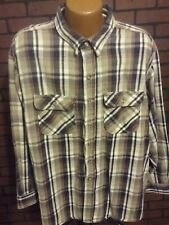 Vintage Field and Stream 3XL Heavy Plaid Flannel Shirt Mens L/S USA F3-6