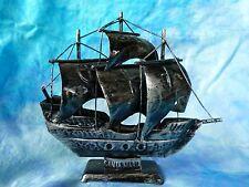 """Petit bateau décoratif en metal """"Santa Maria"""""""