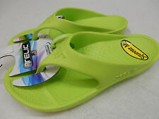 TELIC WOMENS SANDALS FLIP FLOP KEY LIME SIZE 2XS