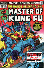 Marvel Shang-Chi Master of Kung Fu #32 (1975) ...Buscema - No stock images