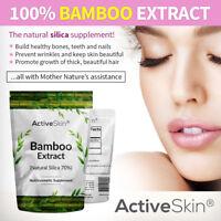 Bamboo Extract Powder | Natural Silica 70% |  100g | Active Skin